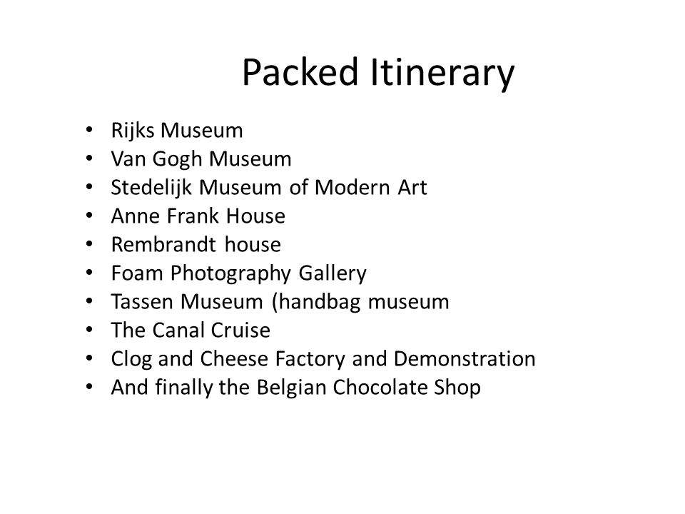 Stedelijk Modern Art Museum Recently renovated gallery showing contemporary arts in a wide range of categories.