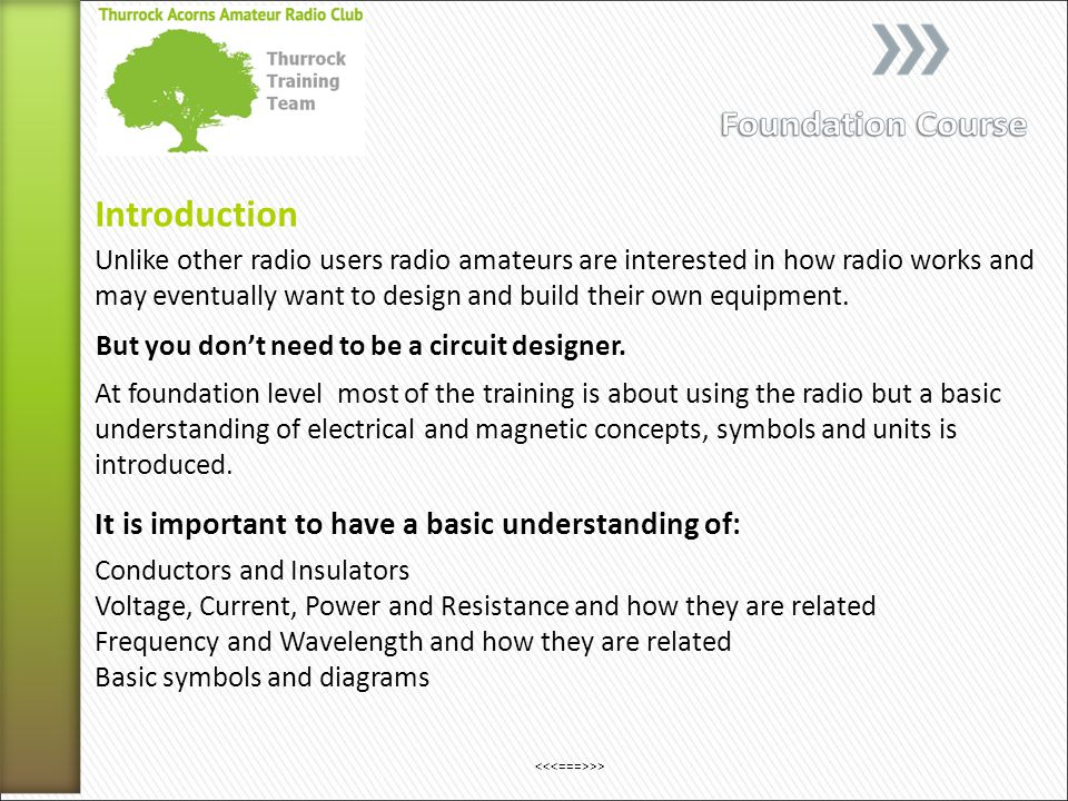 Unlike other radio users radio amateurs are interested in how radio works and may eventually want to design and build their own equipment.