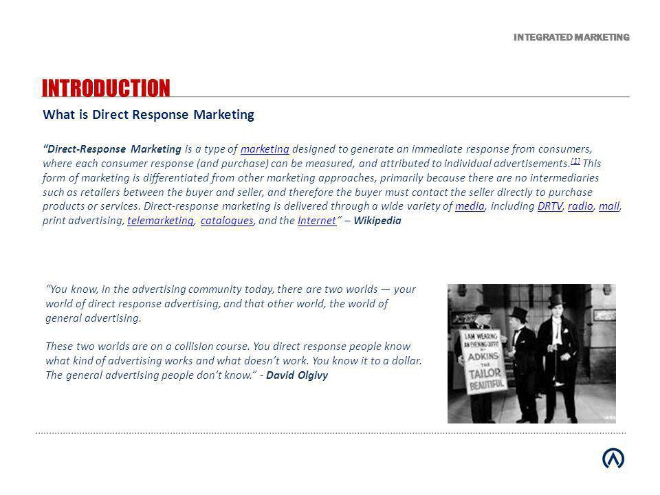 INTEGRATED MARKETING CHANGING MEDIA LANDSCAPE