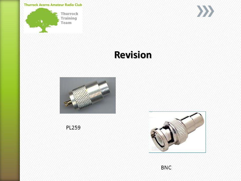 Revision PL259 BNC
