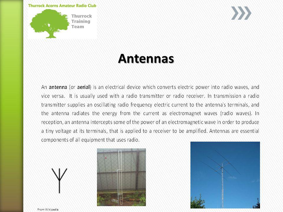 Antennas From Wikipedia