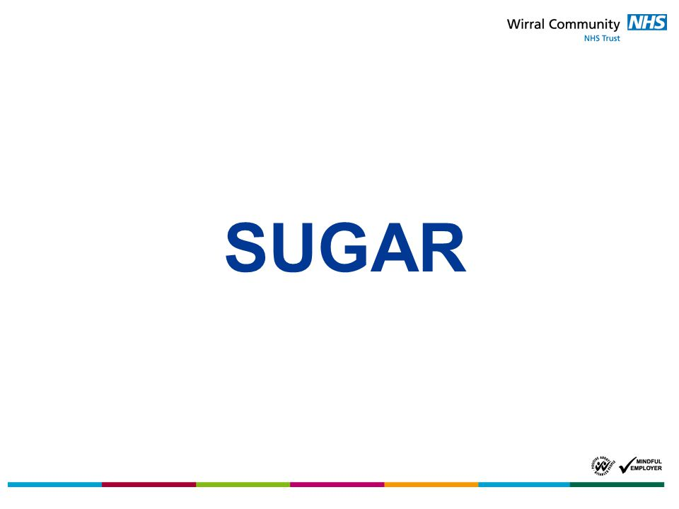 Too much sugar means excess energy, which can lead to stored fat in the body.