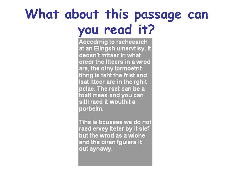 What about this passage can you read it?