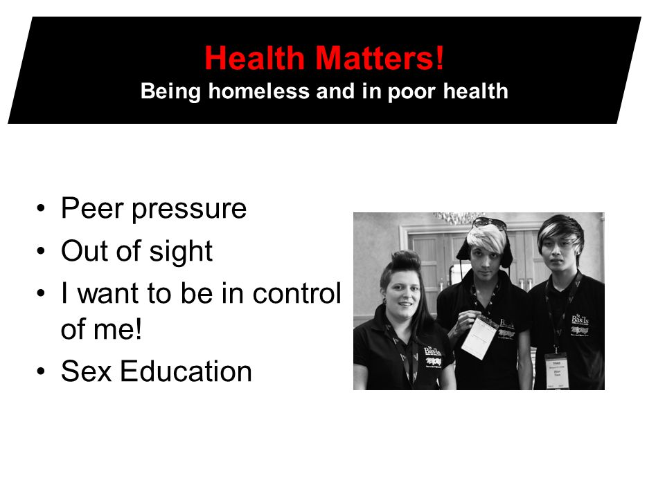 Wellbeing What helped young people.