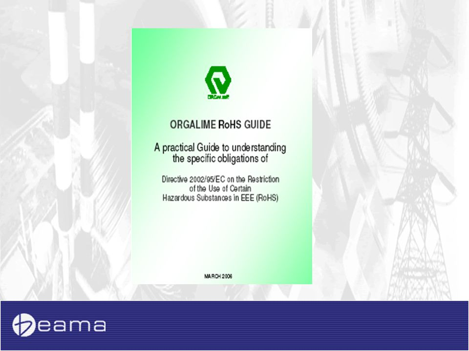 Example: Orgalime clarification of scopes