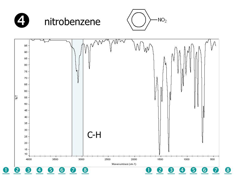 C-H nitrobenzene  