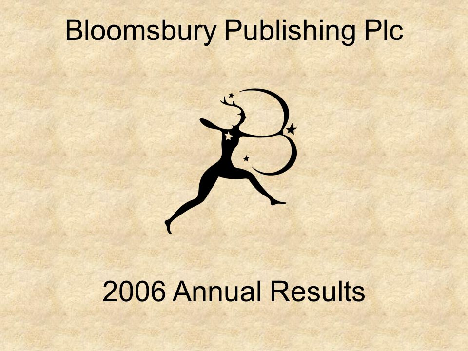 Bloomsbury Publishing Plc 2006 Annual Results