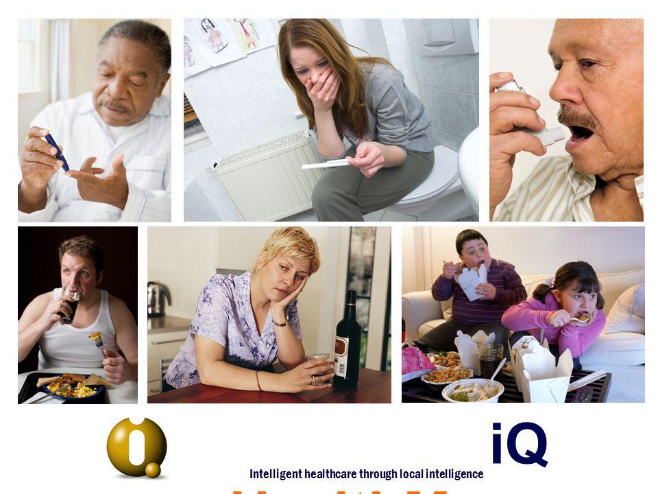 iQ HealthMaps Intelligent healthcare through local intelligence