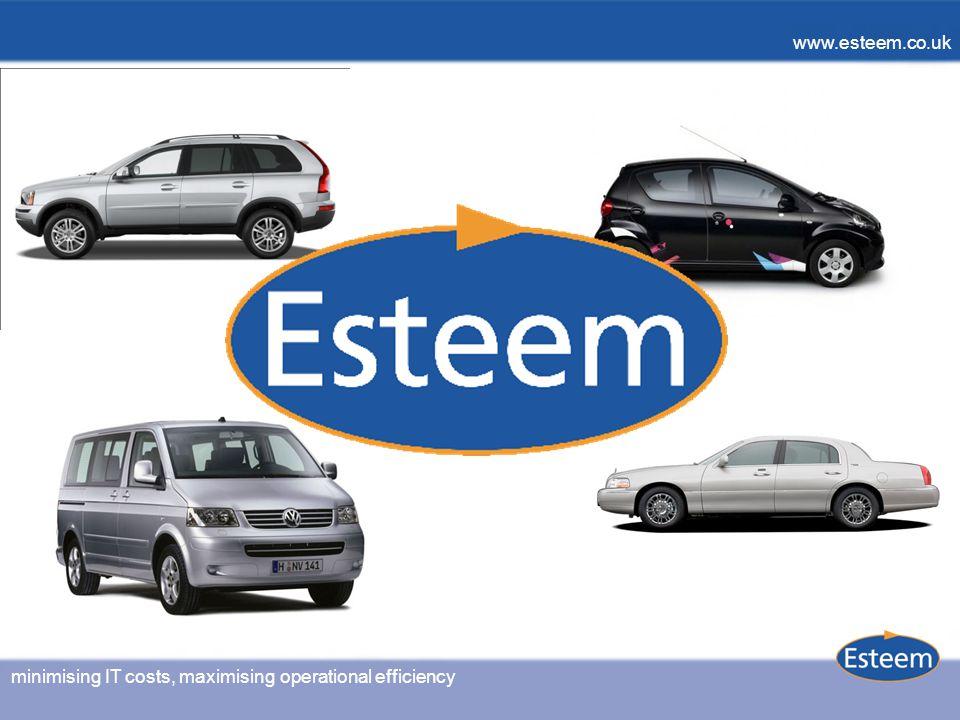 minimising IT costs, maximising operational efficiency www.esteem.co.uk minimising IT costs, maximising operational efficiency www.esteem.co.uk