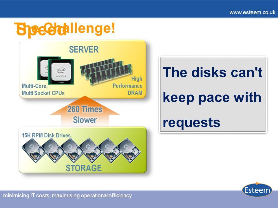 minimising IT costs, maximising operational efficiency www.esteem.co.uk minimising IT costs, maximising operational efficiency www.esteem.co.uk The Challenge.