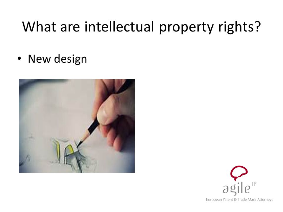 New design What are intellectual property rights?