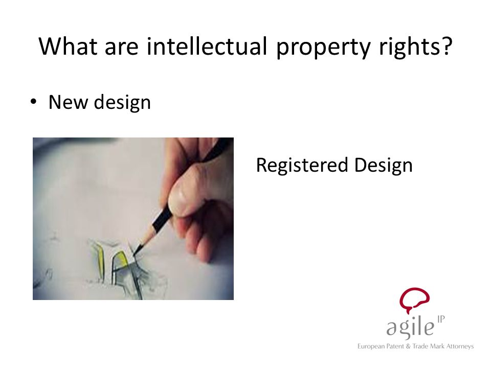 New design Registered Design What are intellectual property rights?