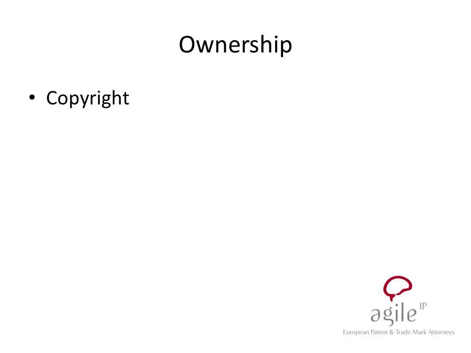 Ownership Copyright