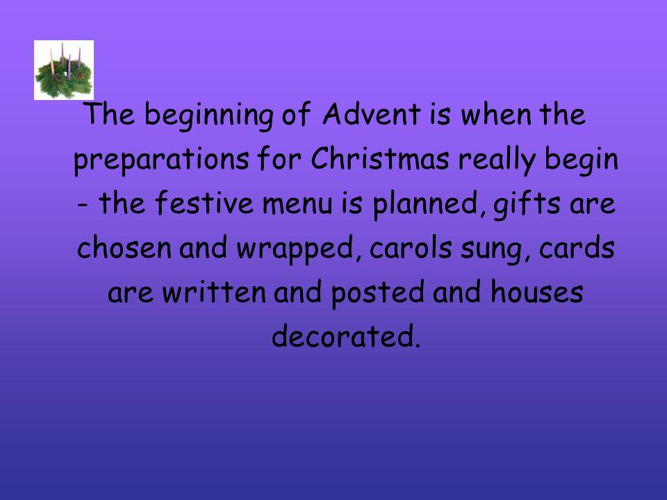 What is an advent calendar.