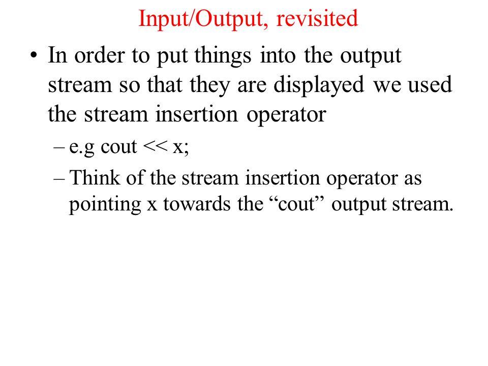 Boolean Operators, Comparitors The primitive boolean operators are: > greater than, e.g.
