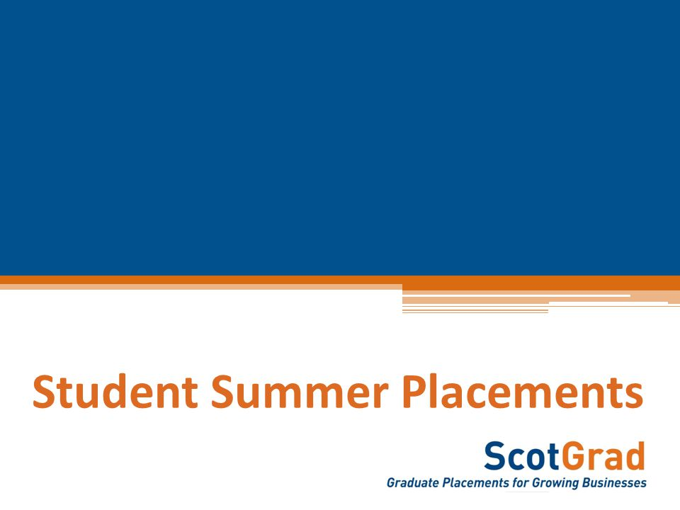 WEEKLY PLACEMENT LISTINGS 12/10/2014 www.ScotGrad.co.uk/graduates *NEW* Student Project Worker Rag, Tag n Textile £6.31 per hourLochaber, Skye and Wester Ross 12 WeeksApply by 8 th June 2014 Rag, Tag n Textile, a registered charity who train and support people with mental health issues, is recruiting for a student to work with them over the summer for a 12 week period.