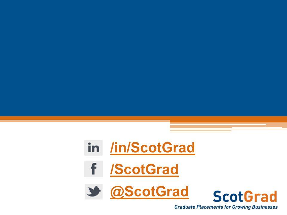 /in/ScotGrad /ScotGrad @ScotGrad