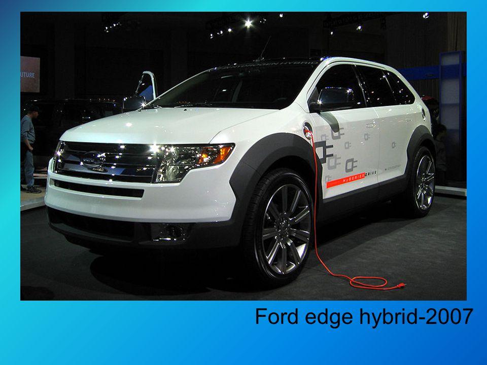 Ford edge hybrid-2007