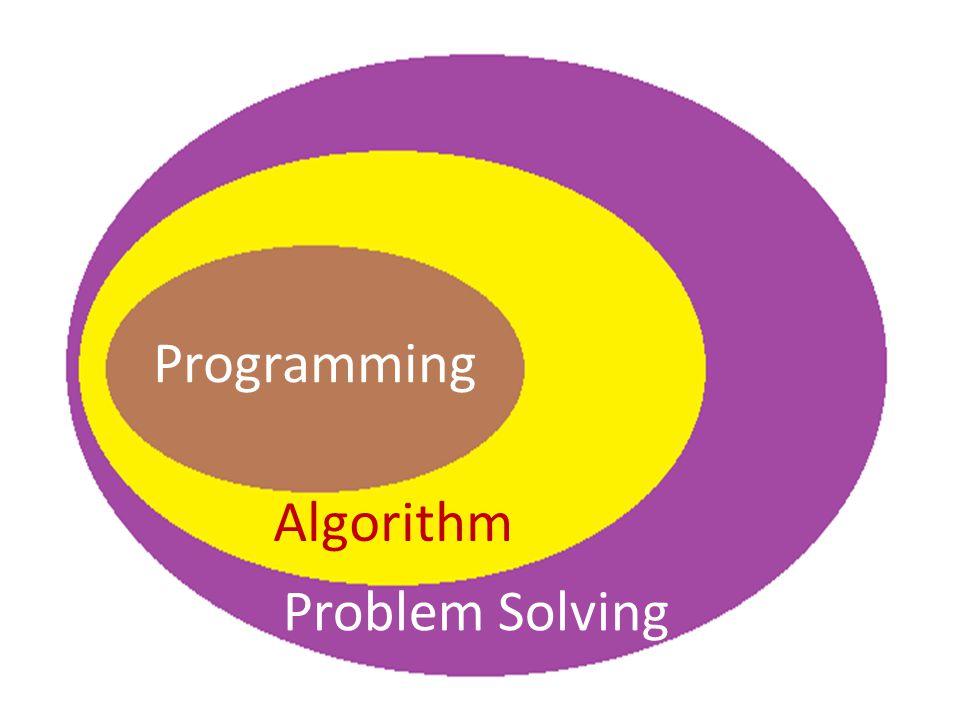 Programming Algorithm Problem Solving
