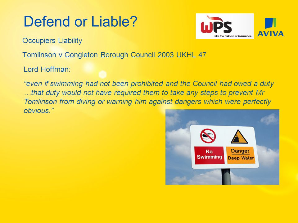 Defend or Liable.Playgrounds - Examples Alleged fast closing gate…..