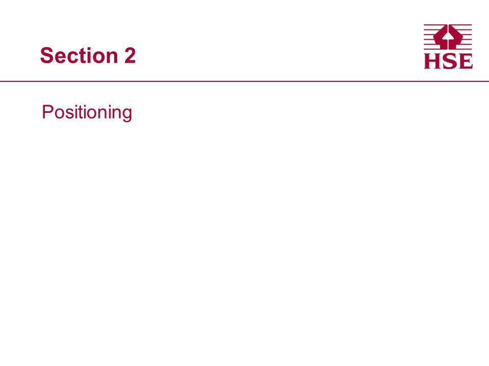 Section 2 Positioning