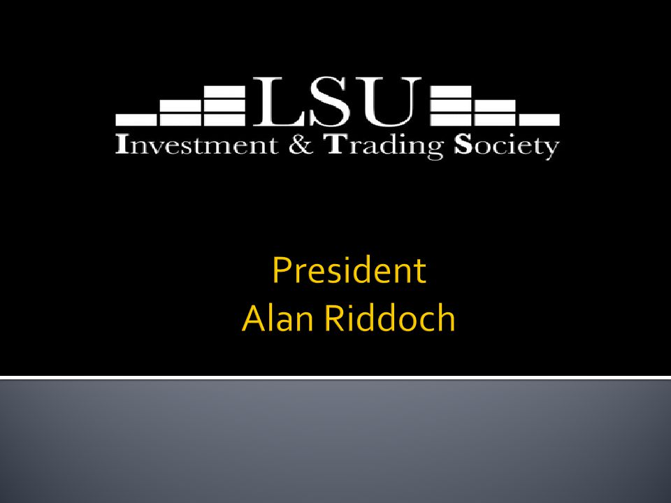  Need suggestions about stocks. If anybody would like to give presentation on stocks or ideas.
