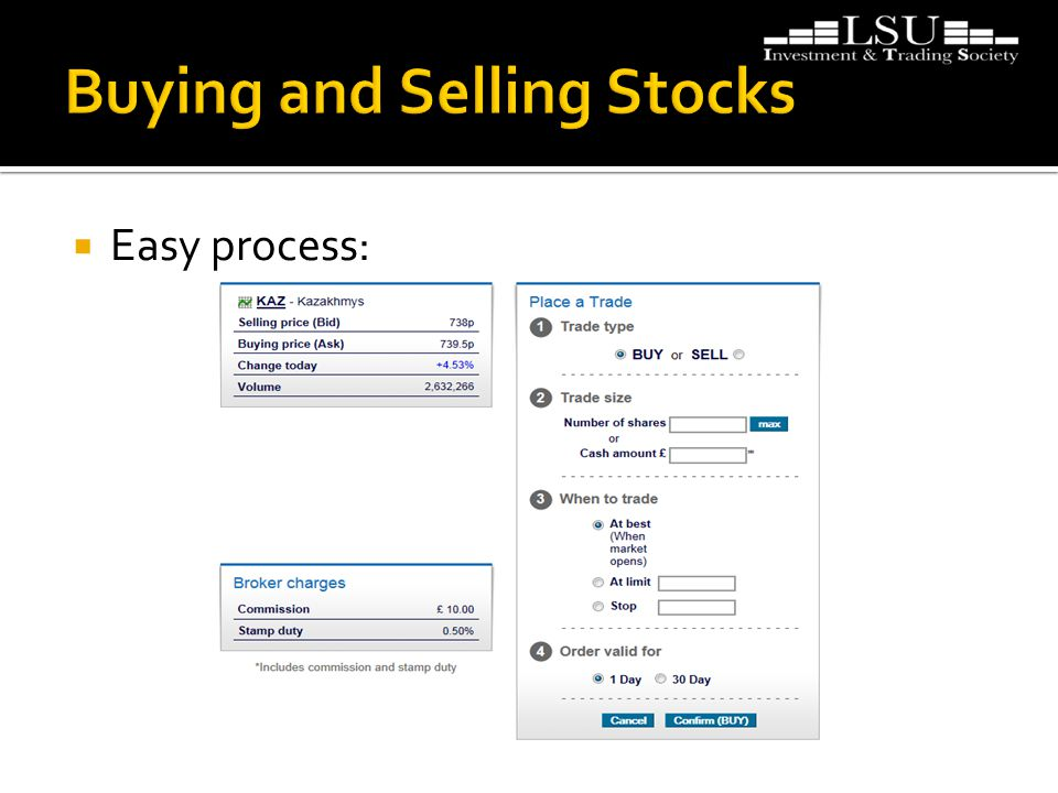  Easy process: