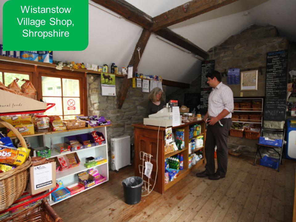 Wistanstow Village Shop, Shropshire
