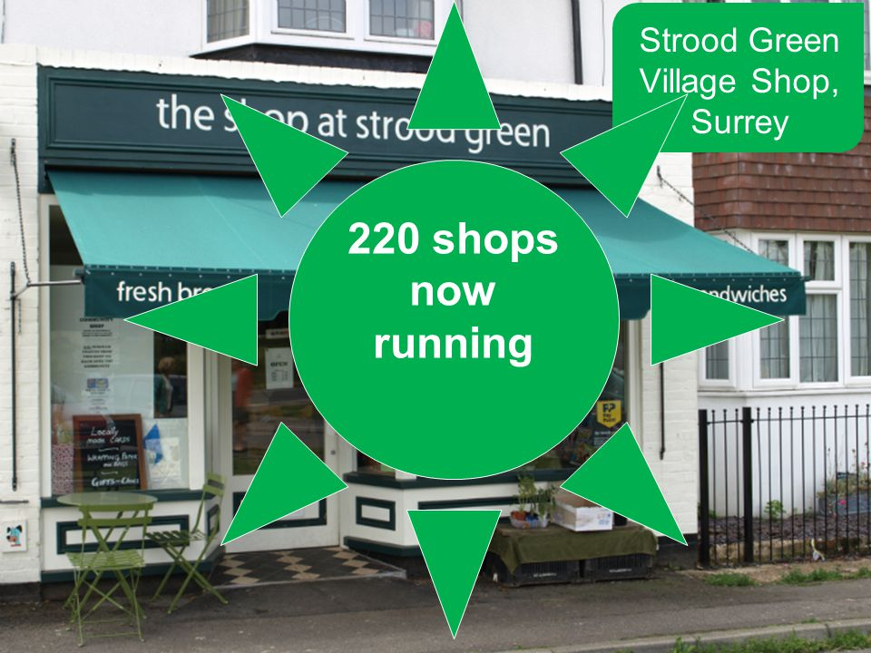 Strood Green Village Shop, Surrey 220 shops now running