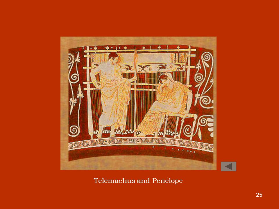 25 Telemachus and Penelope