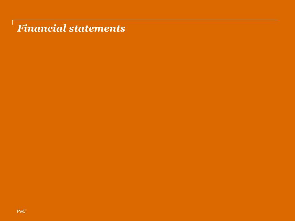 PwC Financial statements