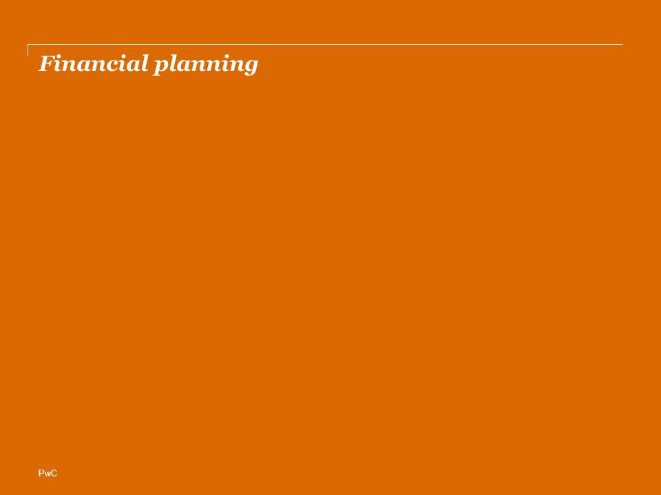 PwC Financial planning