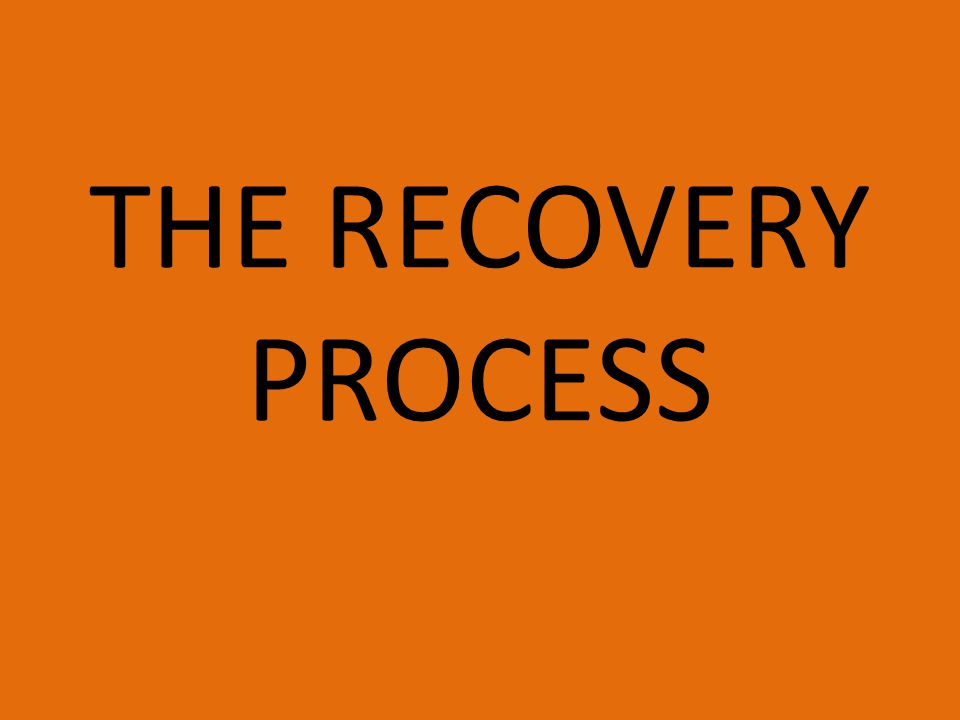 The recovery process Imagine you have just run a marathon Write down what factors will influence how quickly the body can return to is pre-activity state