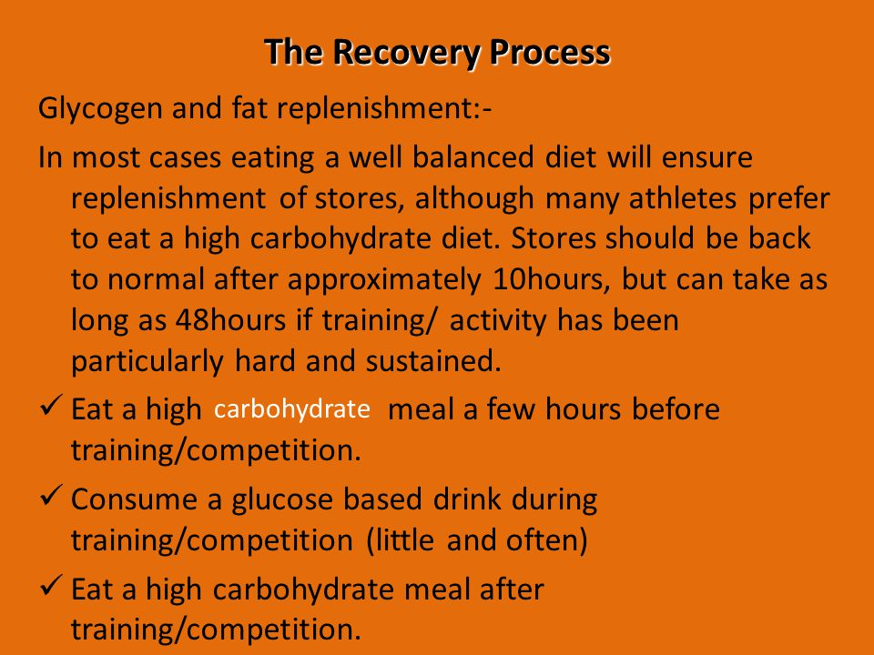 The components of exercise recovery a Rest O2 deficit Steady state O2 consumption End of exercise end of recovery b A=Alactic/ fast replenishment B= lactacid/slow component Excess post oxygen consumption (EPOC)