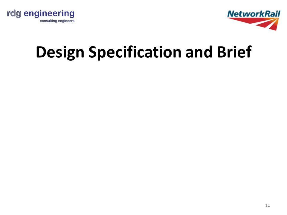 Design Specification and Brief 11