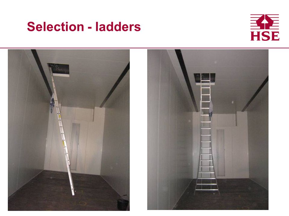 Selection - ladders