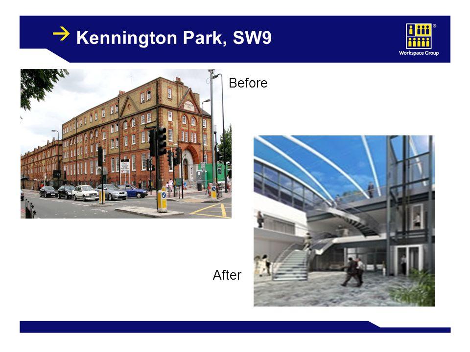14 Kennington Park, SW9 Before After