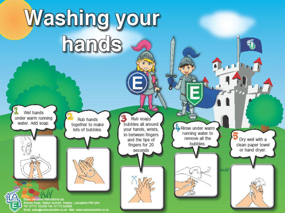 Did you know. Damp hands spread 1,000 time more germs than dry hands.