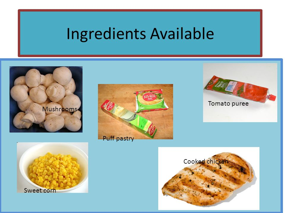 Design a dish Using the ingredients made available to you, design a dish that you could make.