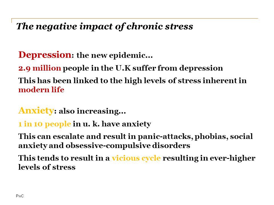 PwC The negative impact of chronic stress Depression : the new epidemic...