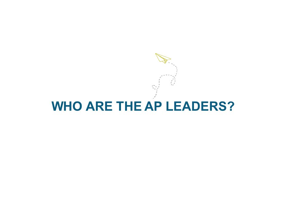 WHO ARE THE AP LEADERS