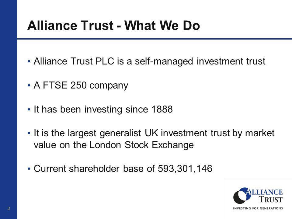 4 Alliance Trust - Structure