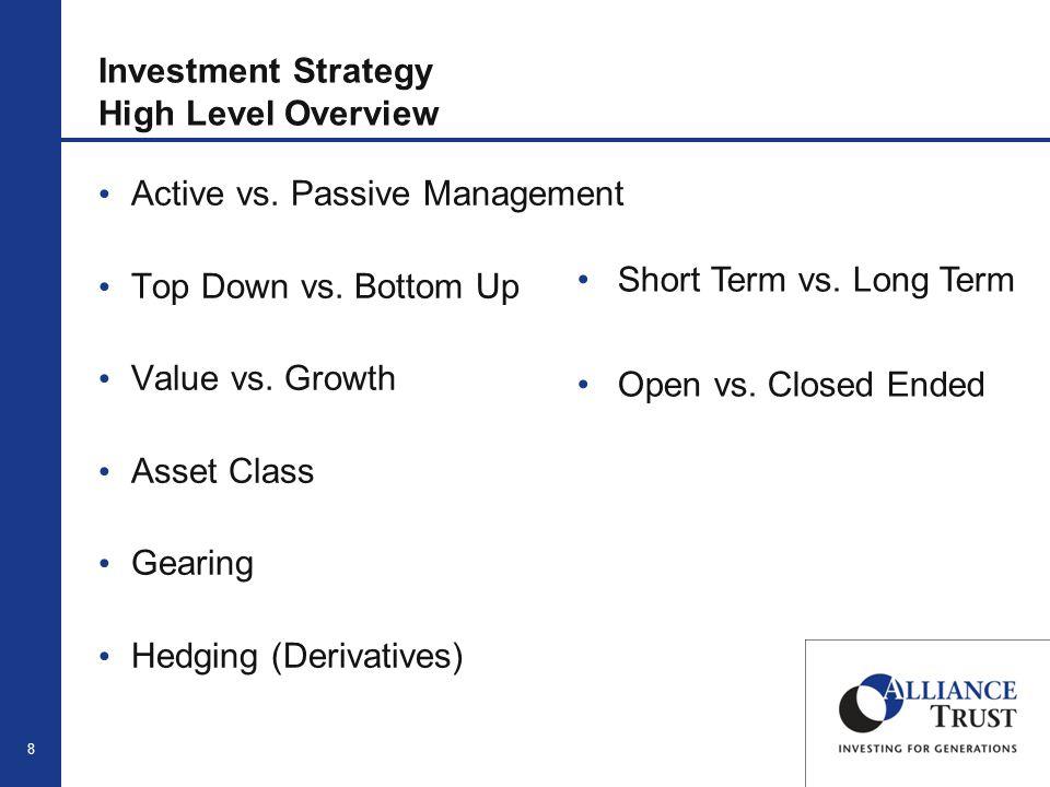 9 Investment Strategy Alliance Trust Portfolio Review