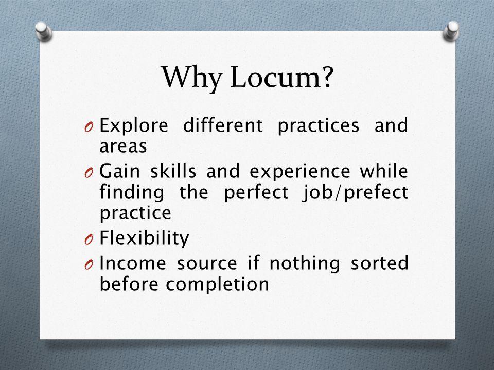 Why Locum.