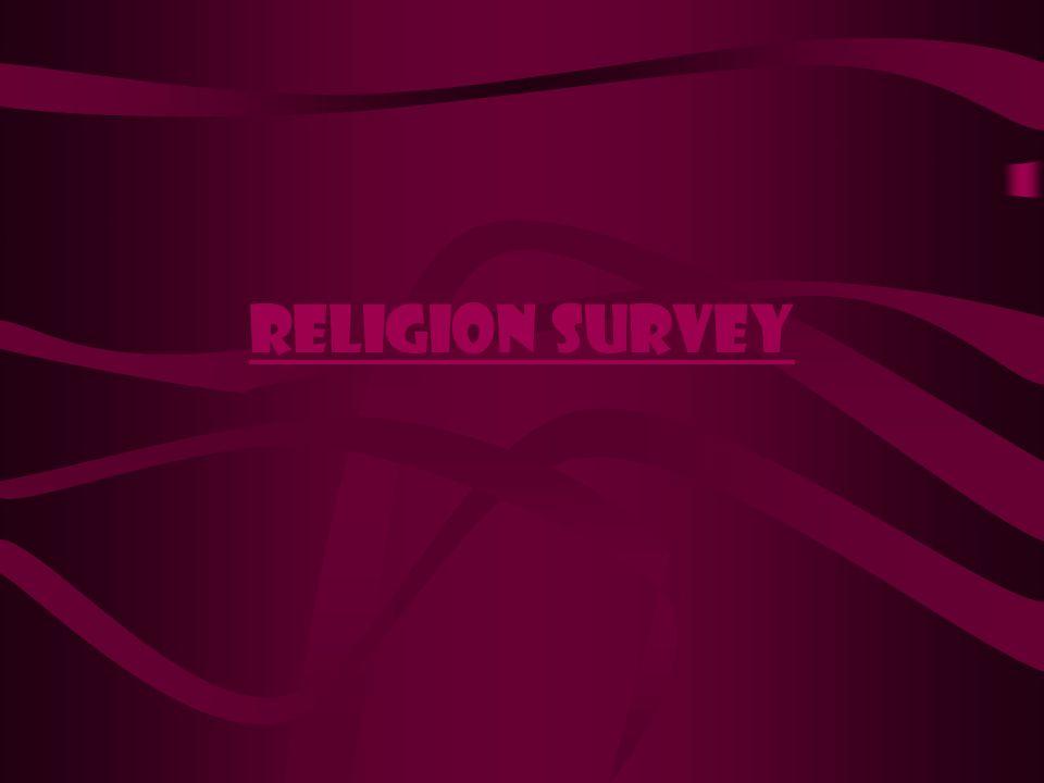 Religion survey
