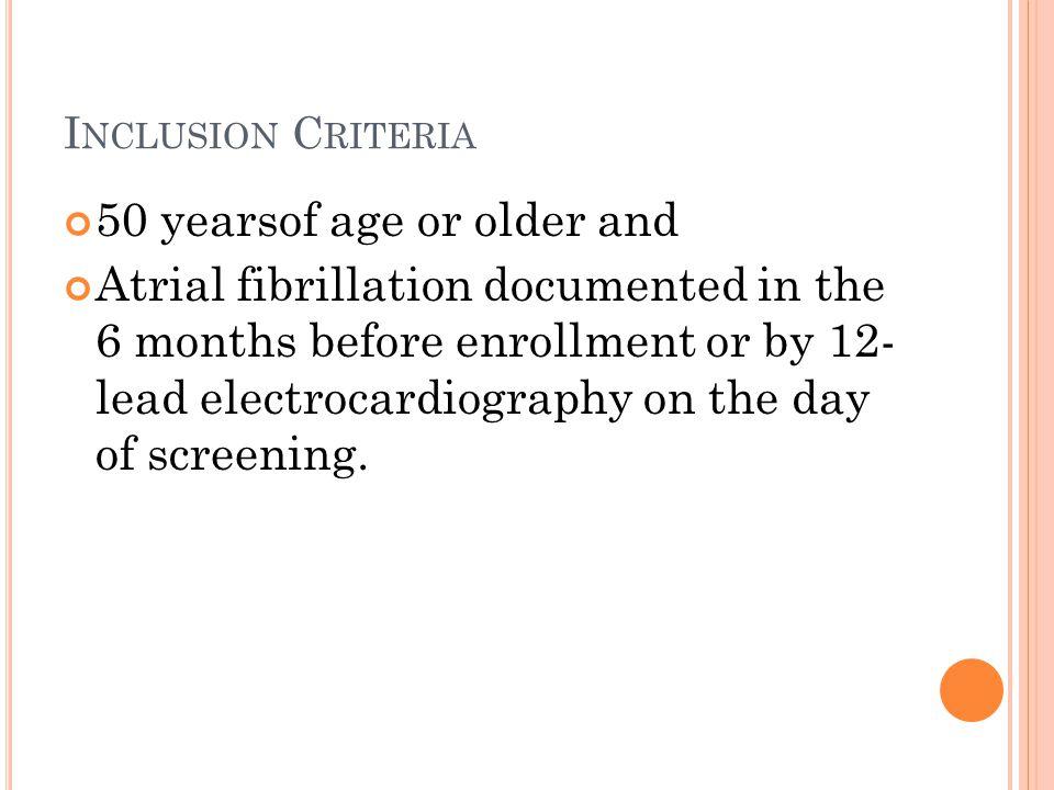 Classification of atrial fibrillation — no.