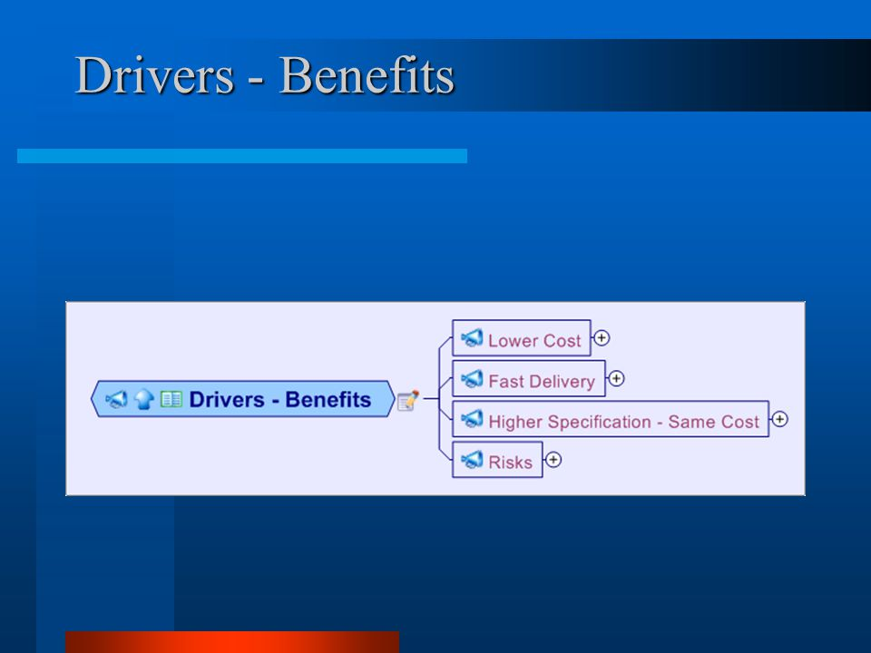 Drivers - Benefits