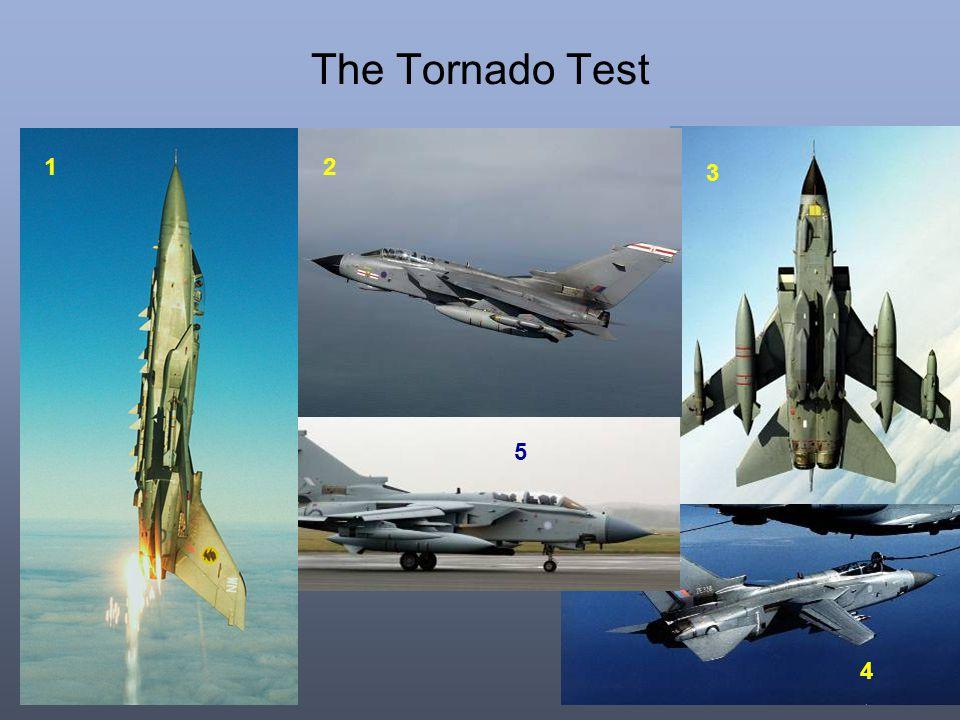 The Tornado Test 4 2 3 5 1