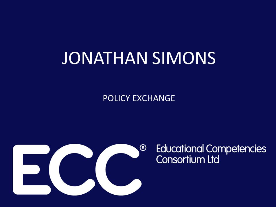 Policy Exchange is an independent, non-partisan educational charity seeking free market and localist solutions to public policy questions.