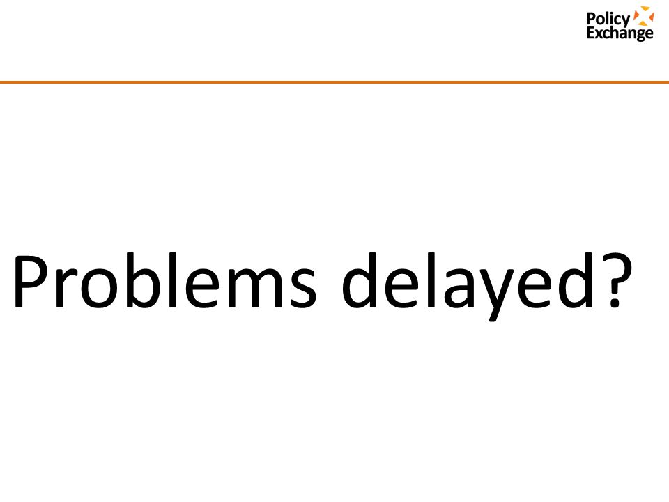 Problems delayed